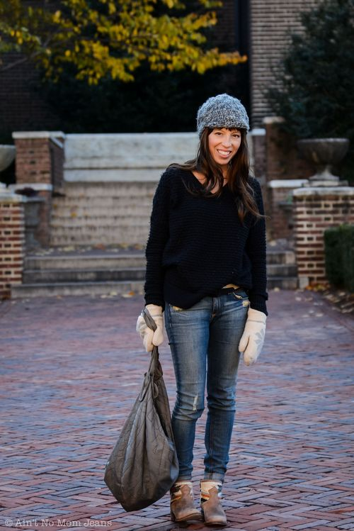 The Mom Edit Shana Half-Tucked Sweater