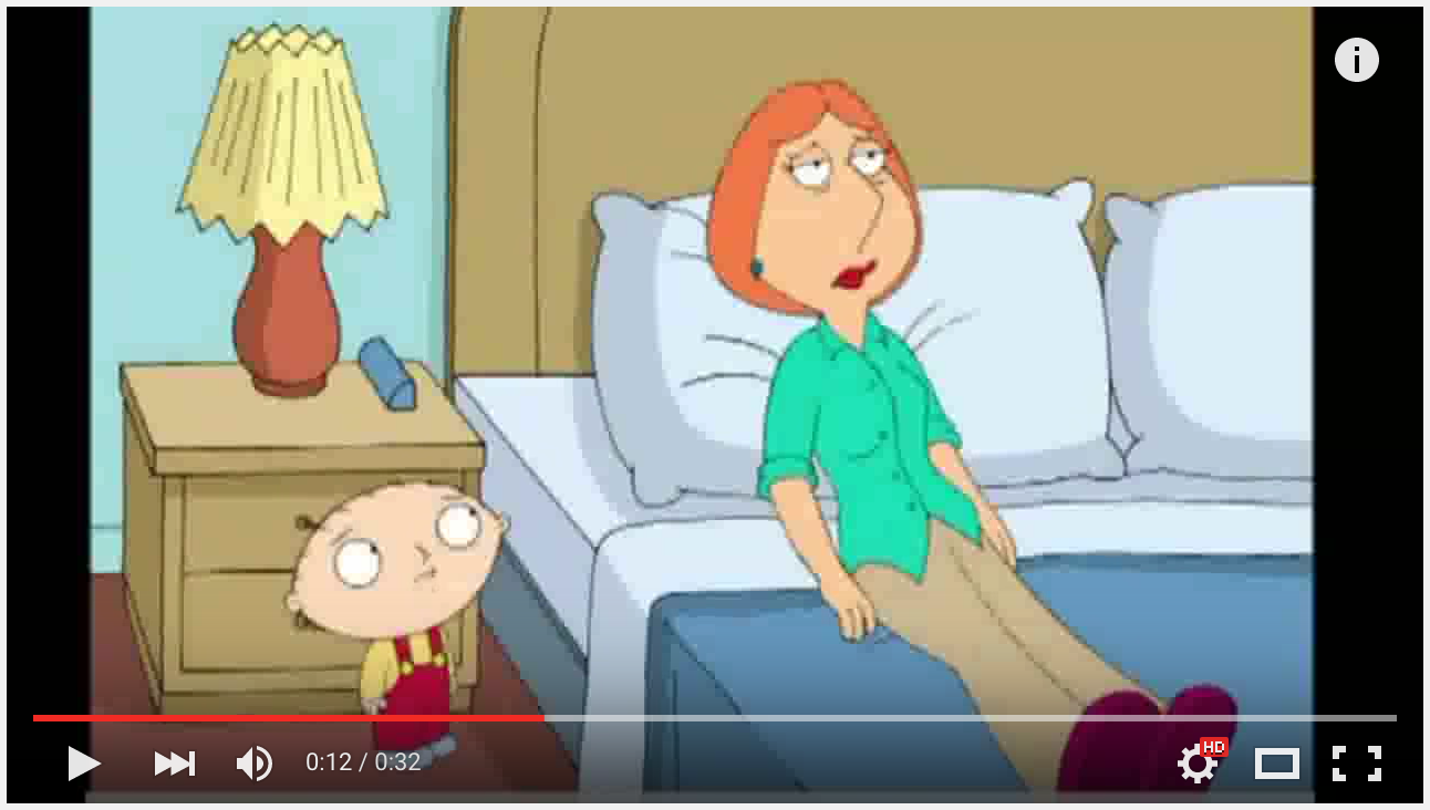 "Family Guy Stewy saying ""Mom. Mum. Mommy."""