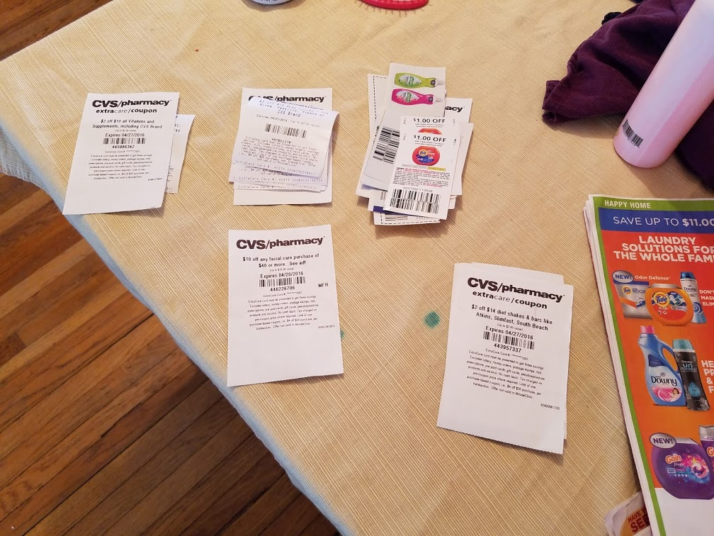 Gaming the CVS coupon system :)