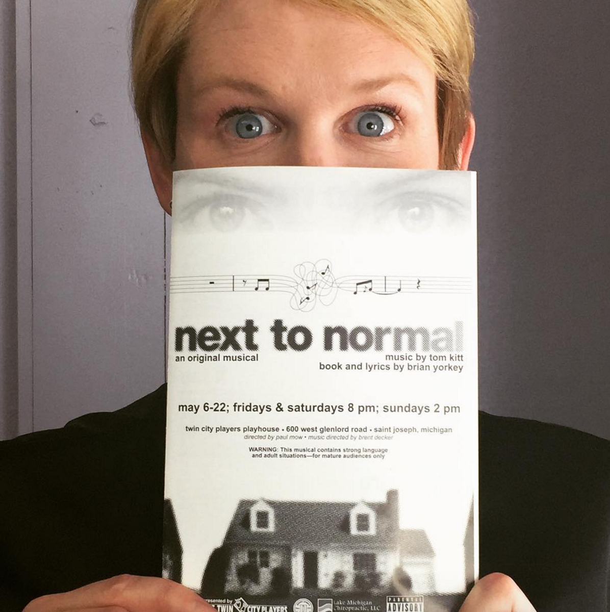 Meagan in Next to Normal